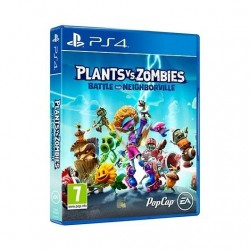 JUEGO SONY PS4 PLANTS vs ZOMBIES BATTLE FOR NEIGHBORVILLE