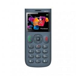 MOVIL MAXCOM COMFORT MM751 GRIS 23 MICROSD HASTA 32GB 900