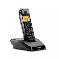 TELEFONO INALAMBRICO DECT DIGITAL MOTOROLA S1201 NEG