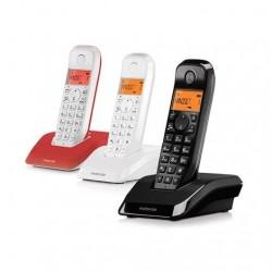 TELEFONO INALAMBRICO DECT DIGITAL MOTOROLA S1203TRIO